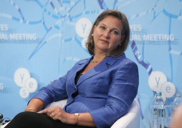 Pomocnice ministra zahraničí USA pro Evropu a Eurasii Victoria Nulandová