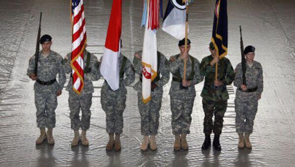 Američtí vojáci v Japonsku - Sputnik Česká republika