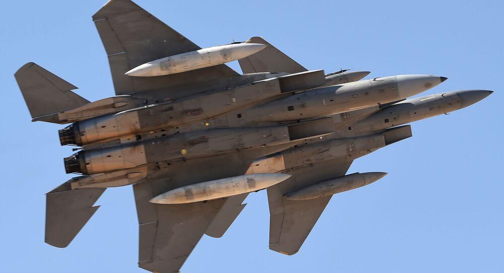 Saúdské stíhačky F-15SA