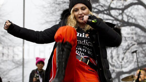 Madonna na mítinku - Sputnik Česká republika