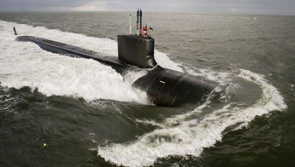Americká ponorka třídy Virginia - Sputnik Česká republika