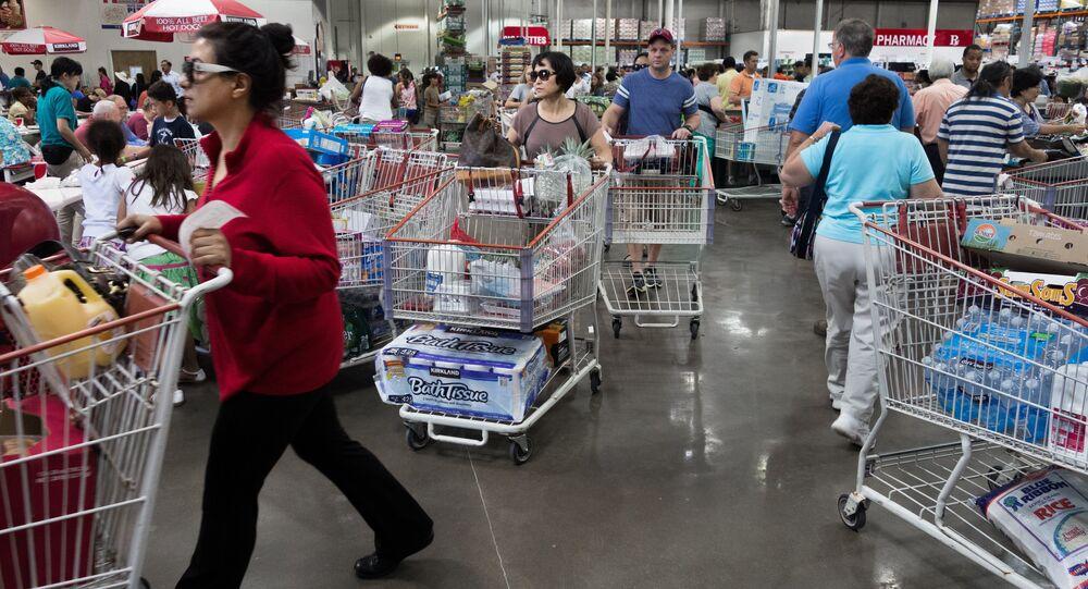Obchod v USA. Ilustrační foto