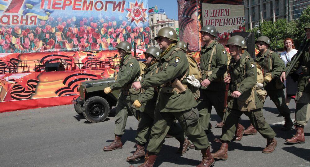 Oslavy Dne vítězství v Kyjevě
