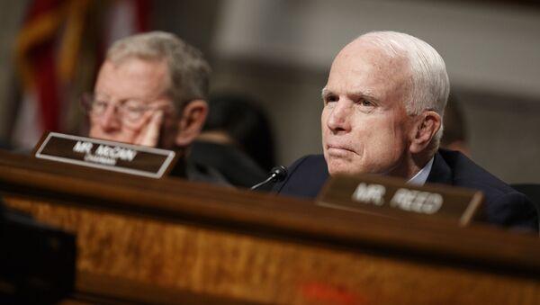 Americký senátor John McCain - Sputnik Česká republika
