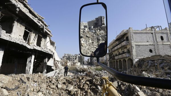 Sýrie - Sputnik Česká republika