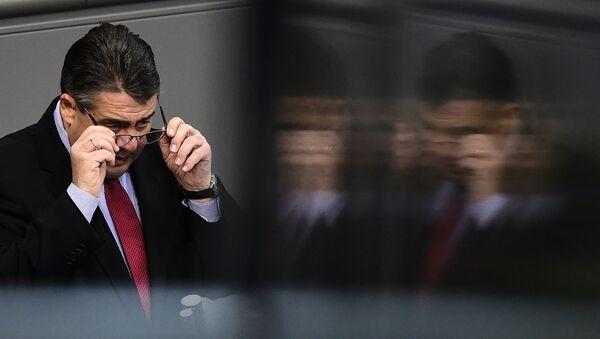 Sigmar Gabriel im Bundestag - 26. Dezember - Sputnik Česká republika