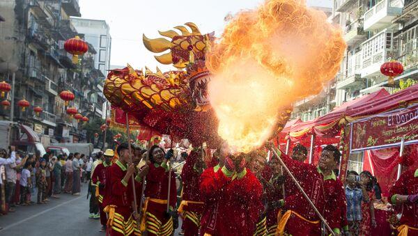 Oslavy čínského nového roku - Sputnik Česká republika