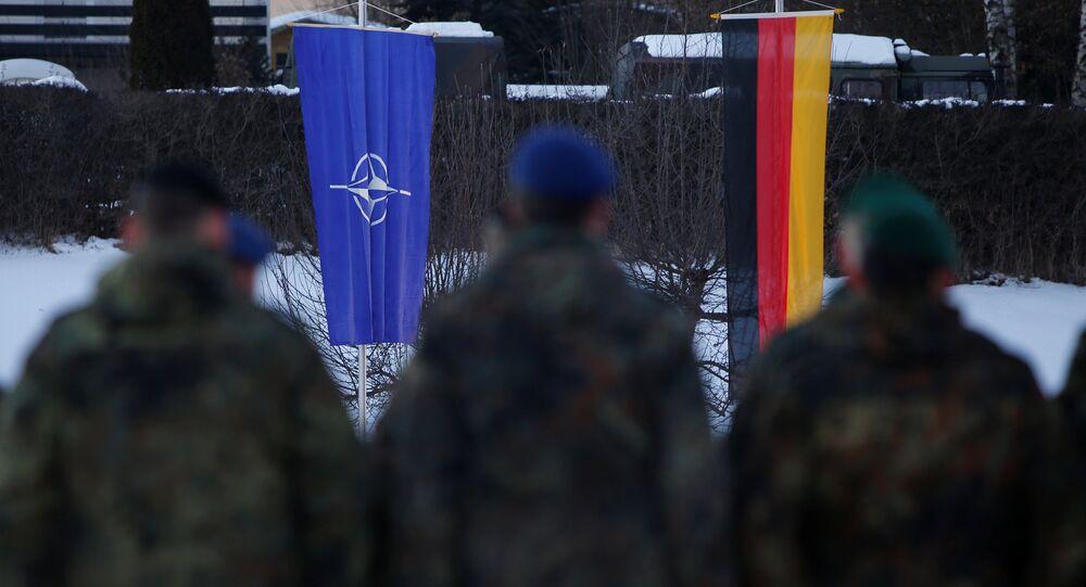 Cvičení NATO v Oberviechtach