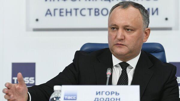 Igor Dodon - Sputnik Česká republika