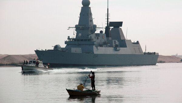 Torpédoborec HMS Diamond - Sputnik Česká republika