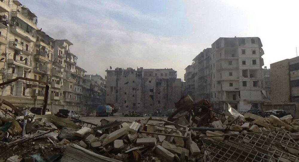 Al Soukari, poslední osvobozená čtvrt' Aleppa