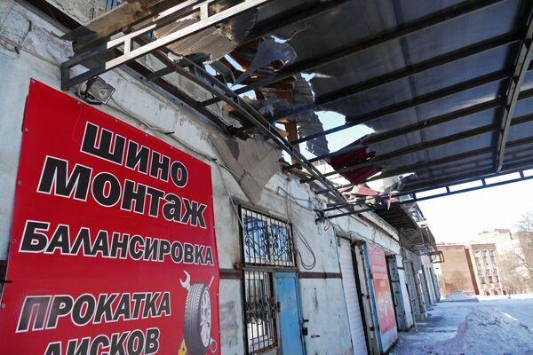 Strany konfliktu se navzájem obviňují ze zvýšení intenzity ostřelování v trojúhelníku Doněck-Jasinovataja-Avdějevka - Sputnik Česká republika