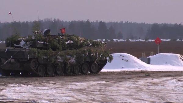 Cvíčení NATO v Polsku - Sputnik Česká republika