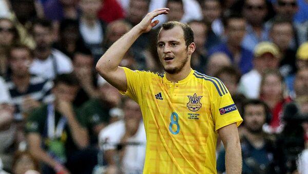 Ukrajinský fotbalista Roman Zozulja - Sputnik Česká republika