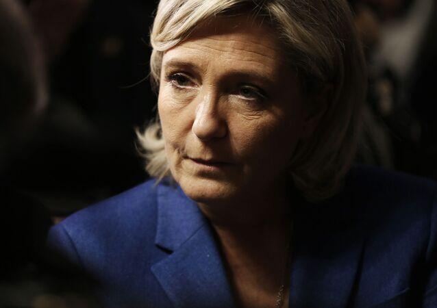 Předsedkyně strany Národní fronta Marine Le Penová