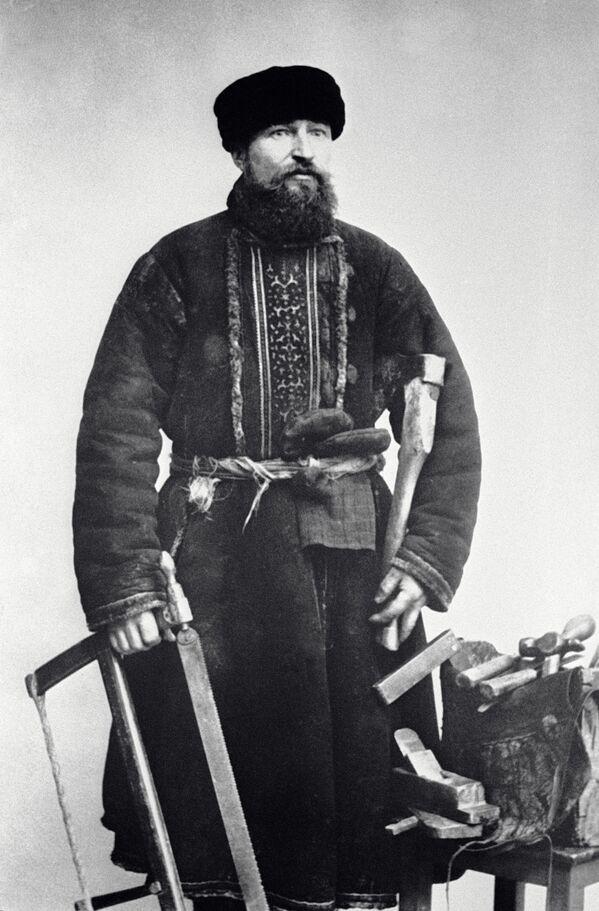 Moskevský truhlář, rok 1913 - Sputnik Česká republika