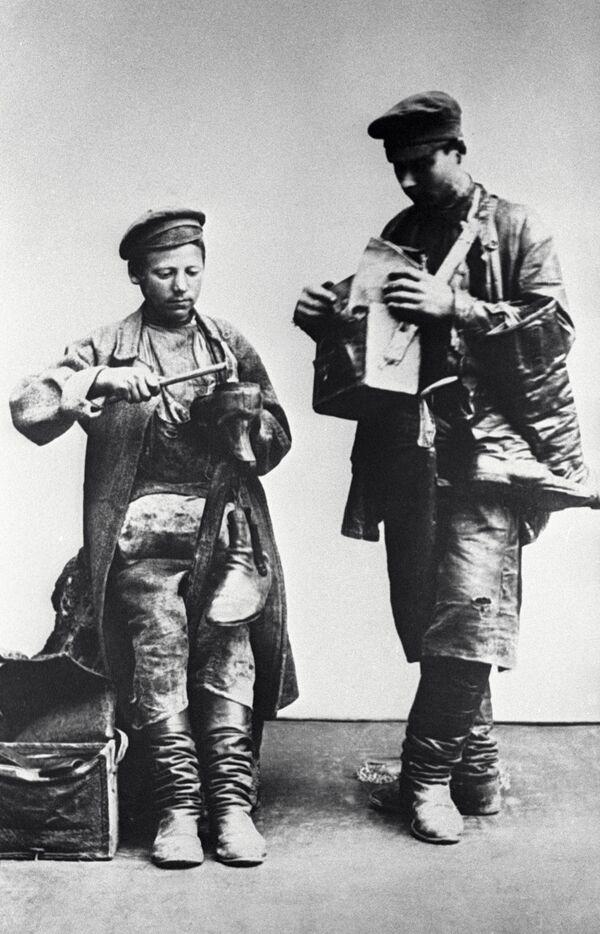 Moskevští ševci, rok 1913 - Sputnik Česká republika