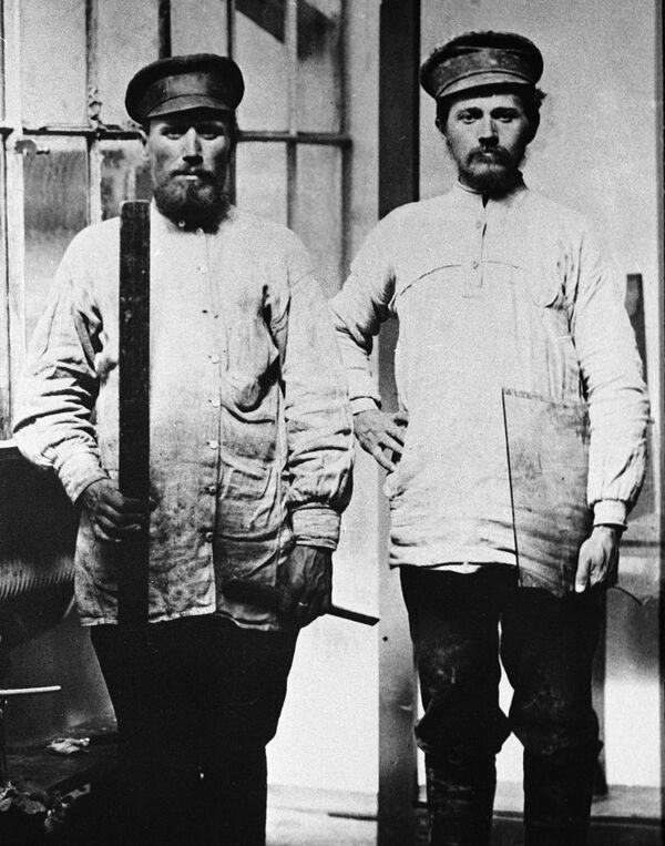 Moskevští sklenáři, rok 1913 - Sputnik Česká republika