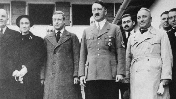 Návštěva Eduarda VIII. u Adolfa Hitlera, Německo, 1937 - Sputnik Česká republika