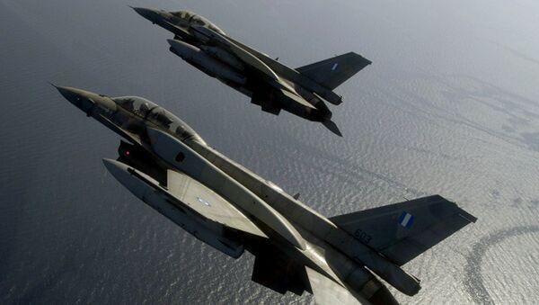 Letoun F-16 - Sputnik Česká republika