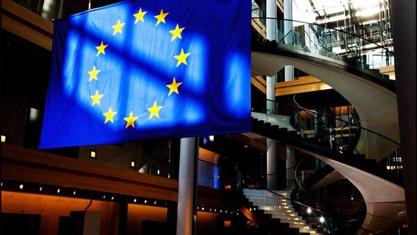 Vlajka Evropského parlamentu - Sputnik Česká republika