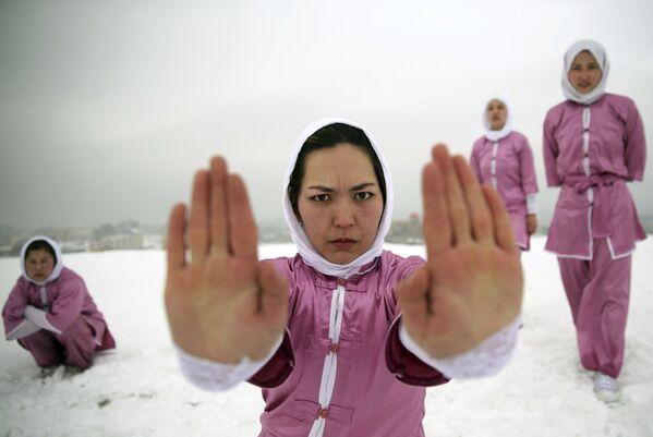 Afghánský Šaolin: výuka bojových umění pro afghánské slečny, aby se mohly bránit - Sputnik Česká republika