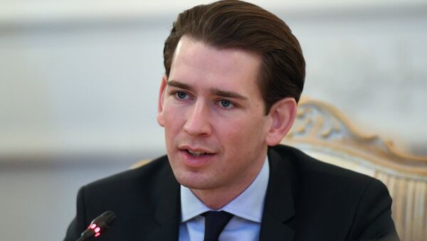 Předseda rakouských lidovců Sebastian Kurz  - Sputnik Česká republika