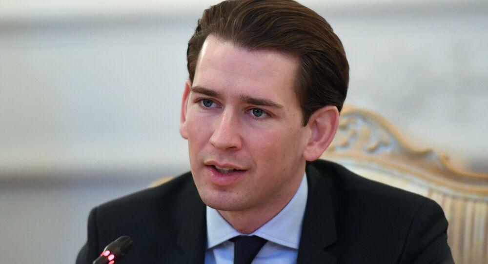 Österreichischer Außenminister Sebastian Kurz