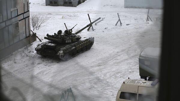 Tank v Avdějevce - Sputnik Česká republika
