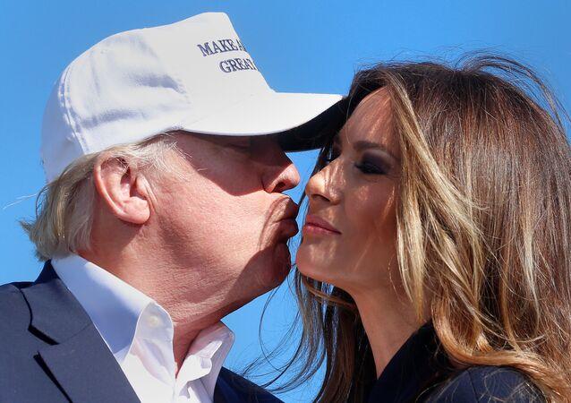 Donald a Melania Trumpovi