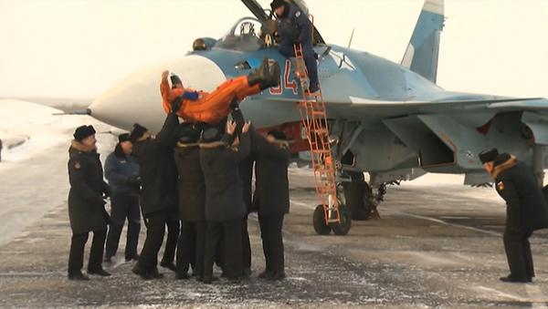 Letecké křídlo Admirála Kuzněcova se vrátilo do Ruska - Sputnik Česká republika