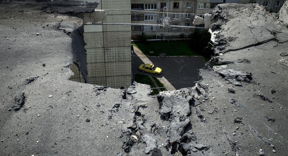Luhansk. Archivní foto