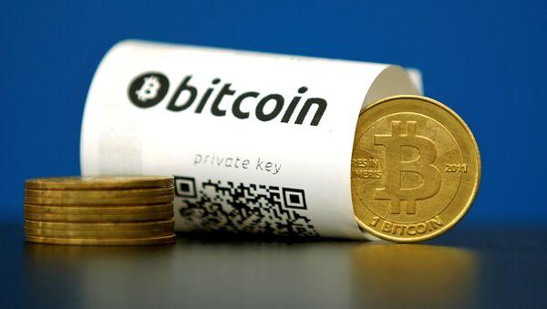 Bitcoin. Ilustrační foto - Sputnik Česká republika
