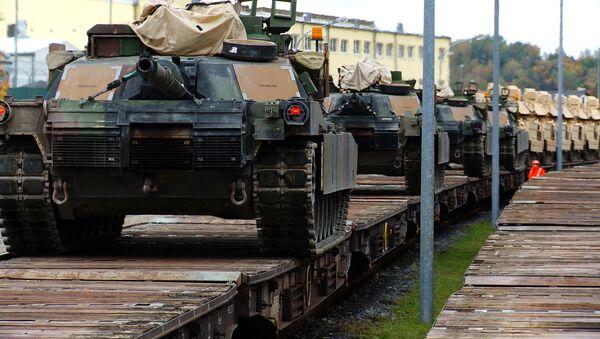 Americké tanky M1A2 Abrams. Ilustrační foto - Sputnik Česká republika
