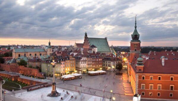 Plac Zamkowy w Warszawie - Sputnik Česká republika