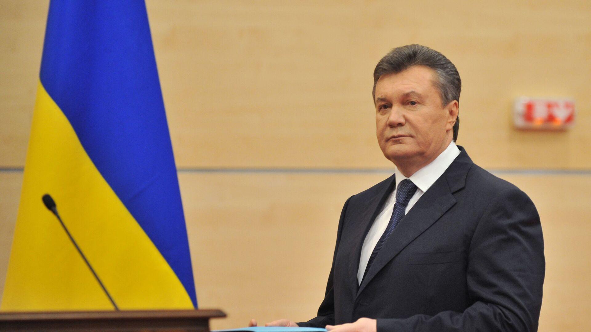 Byvalý prezident Ukrajiny Viktor Janukovič - Sputnik Česká republika, 1920, 17.08.2021