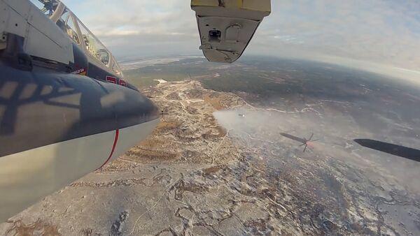 Taktická cvičení posádek bitevníků Su-25 - Sputnik Česká republika