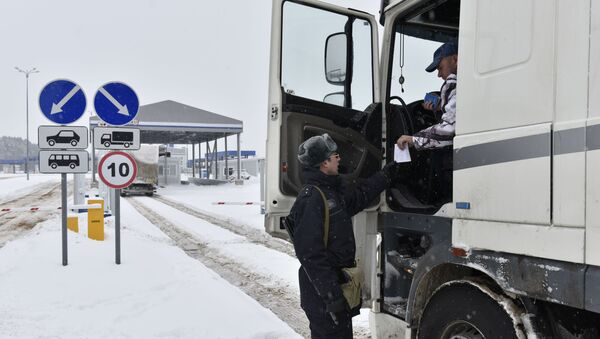 Rusko-běloruská hranice - Sputnik Česká republika
