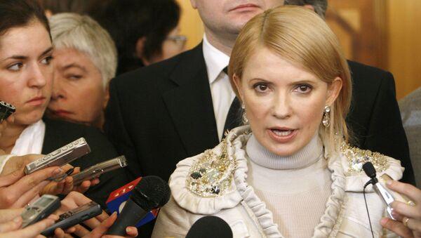 Julija Tymošenková - Sputnik Česká republika