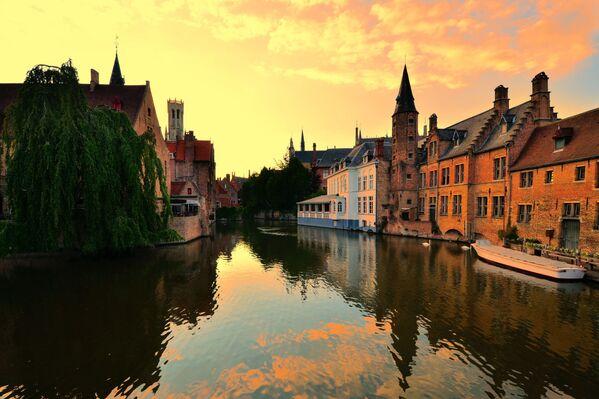 Nejkrásnější města podle Telegraph - Sputnik Česká republika