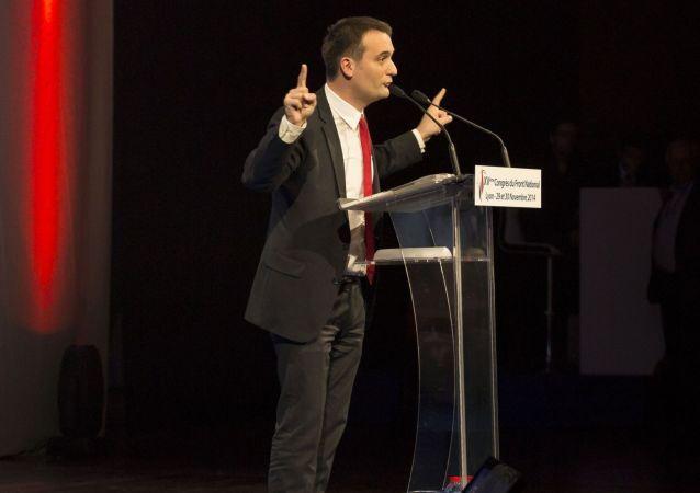 Francouzská ultrapravicová strana Národní fronta