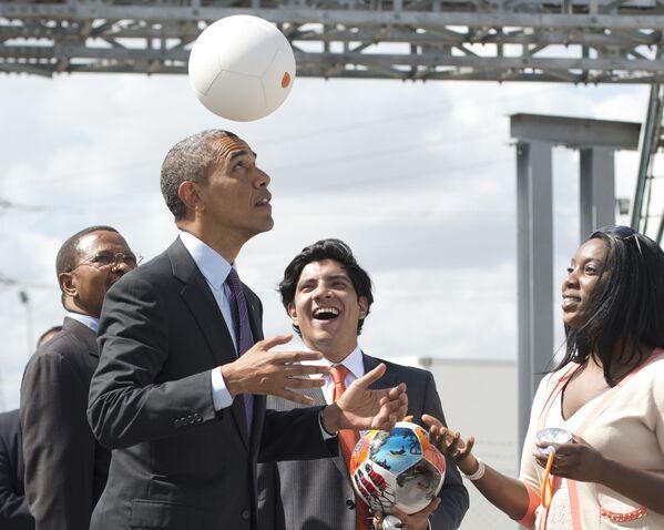 Obama tráví volný čas u amerického miliardáře - Sputnik Česká republika