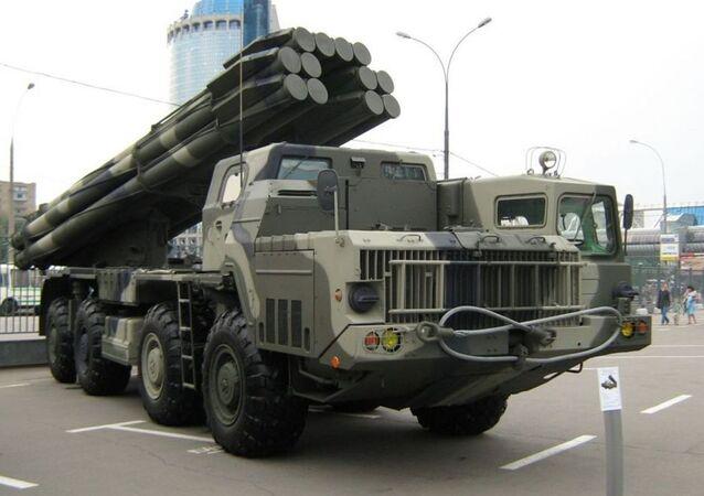 Modernizovaný raketový systém Tornado-S