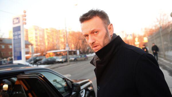 Ruský opozičník Alexej Navalný - Sputnik Česká republika