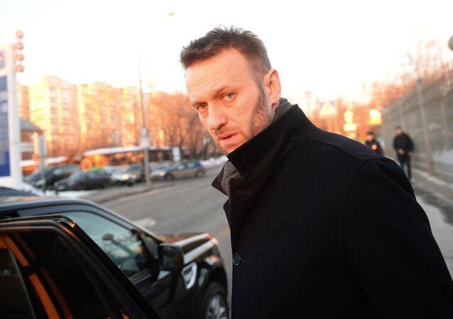 Ruský opozičník Alexej Navalný