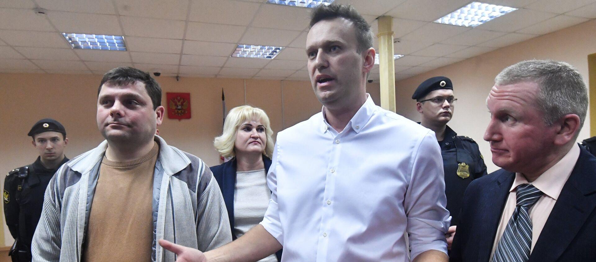 Ruský bloger Alexej Navalnyj - Sputnik Česká republika, 1920, 05.02.2021
