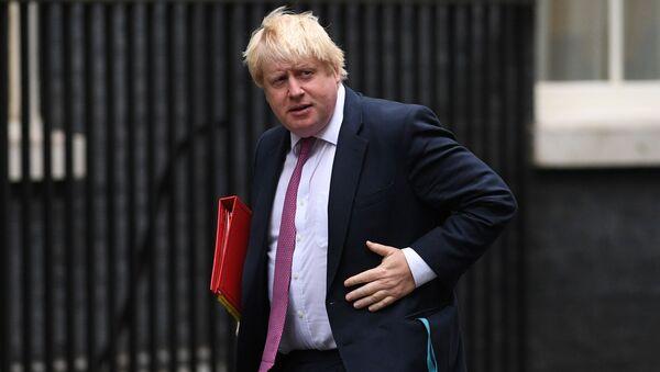 Britský ministr zahraničí Boris Johnson - Sputnik Česká republika
