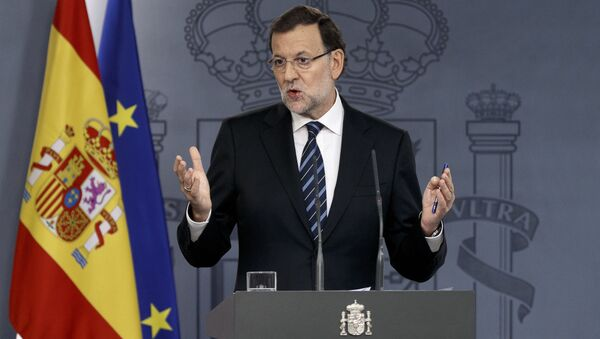 Španělský premiér Mariano Rajoy - Sputnik Česká republika