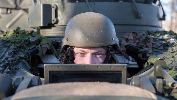 Voják NATO v Lotyšsku - Sputnik Česká republika
