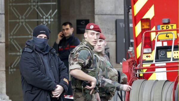 Francouzští vojáci. Ilustrační foto - Sputnik Česká republika